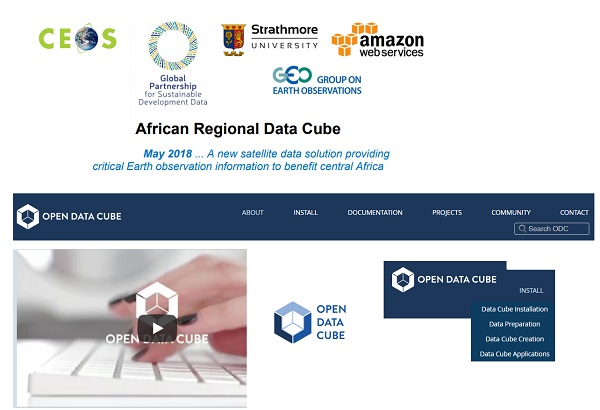 AFRICAN REGIONAL DATA CUBE (ARDC) - based on the Open Data ...