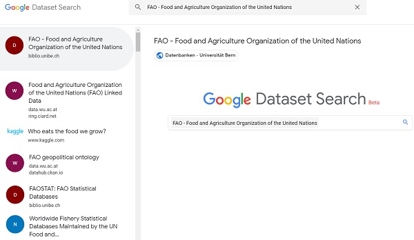 Find the DATA You need     more easily with Google Dataset Search