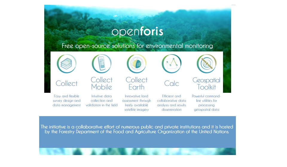 Openforis Free Open Source Solutions For Environmental Monitoring Agricultural Information Management Standards Aims