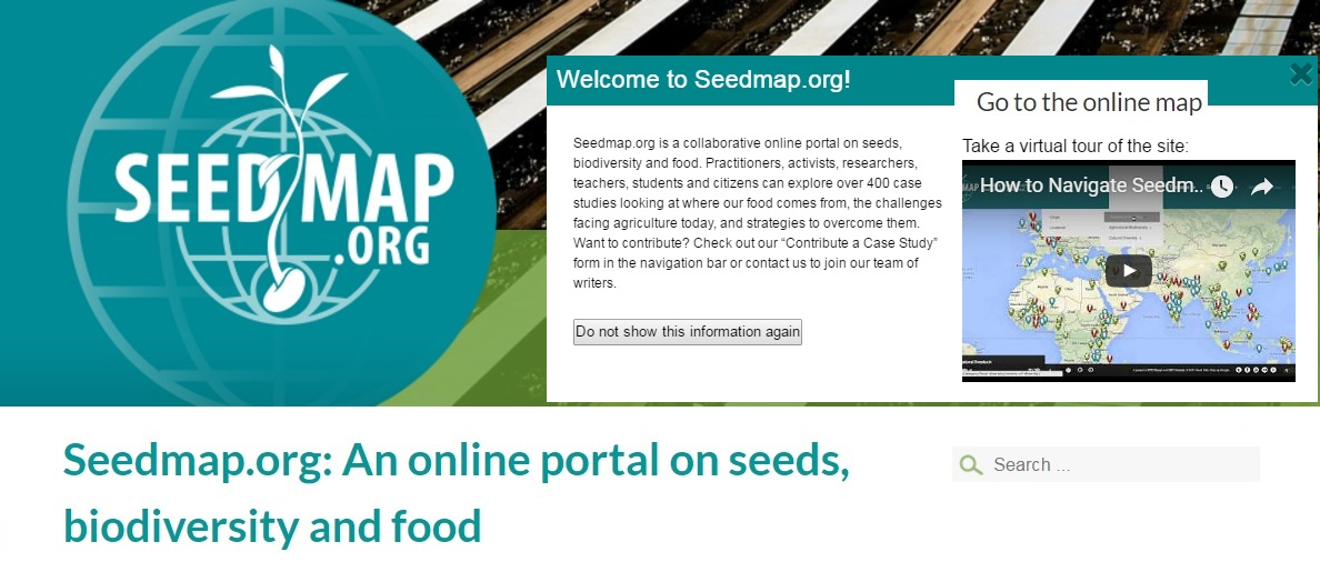 Seedmap.org : an online portal on Seeds, Biodiversity and ... on map darfur, map vikings, map earth,