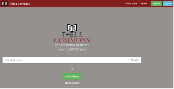 Online dissertations and theses open
