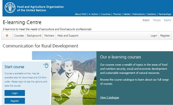 Free FAO e-learning course on Communication for Rural