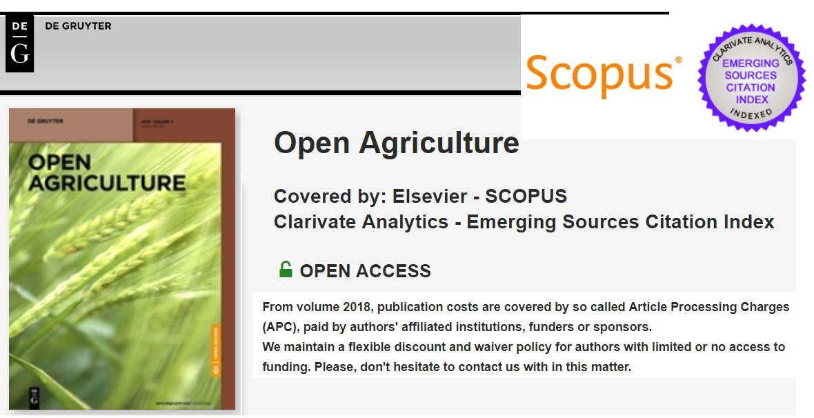 Scopus Indexed Journals Without Publication Fee